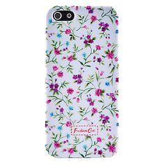 britannico piccolo floreale caso rurale stile fresco modello in plastica dura per il iphone 5/5s – EUR € 2.75