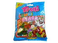 Trolli Gummi Bears and other confectionery now at The Professors Online Lolly Shop