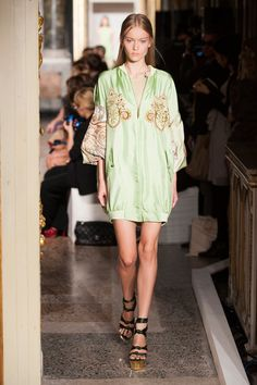 Emilio Pucci // trend spotting: sporty chic with Eastern influence