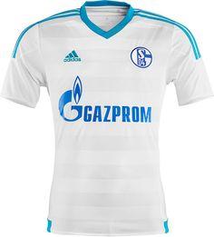 Nice Day Sports: FC Schalke 04 2015-16 adidas Away Kit Jersey Shirt...