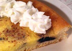 German dessert, kuchen, at Kroll's Diner in Fargo, ND!