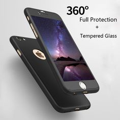 Mobile Phone Bags Cases ELFTEAR Case For iPhone 6 Case Plus Case for iPhone 7 Case 7 plus With Tempered Glass Luxury 360 Degree Full Body Phone Cover * This is an AliExpress affiliate pin. Find out more on AliExpress website by clicking the image Iphone 6 Cases, Mobile Phone Cases, Apple Iphone 6s Plus, Iphone 8 Plus, 6s Plus Case, Phone Cover, Screen Protector, Full Body, Technology