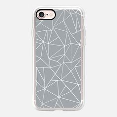 Abstract Outline Grey -   #casetifyiphone7 #iphone7 #geometric #abstract #phonecase