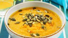 NED I VEKT MED SUPPER: Bytt ut middagen med en herlig og varm suppe! FOTO: Svein Brimi