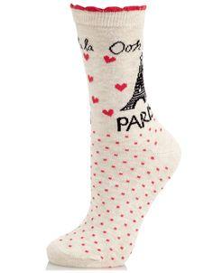 Ohh La La Paris Socks