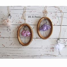 wire and textile necklace dolls