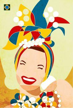 desenho carmen miranda - Pesquisa Google Carmen Miranda, Brazil Art, Colombian Art, Culture Day, Maori Designs, Virtual Art, Cute Photos, Beautiful Artwork, Illustrations Posters