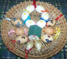 Egy kosár Húsvéti ajándék.
