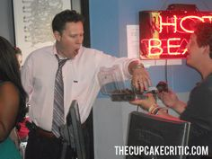The Cupcake Critic  on Across The  Fader at WLVS Radio. DJ Boom enjoyed the cupcakes by Delectable Bakery in Landover, MD