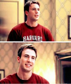He's so young- Chris Evans