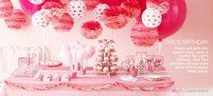 Martha Celebrations @Jennie Perkins Girls Birthday- Pretty and Pink
