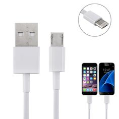 [$1.11] 2 in 1 Round Wire Micro USB & 8 Pin to USB Data / Charger Cable for iPhone, iPad, Galaxy, Sony and other Smartphone,…