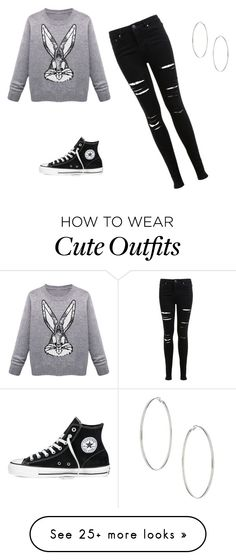 """""""Jasmine V Outfit"""" by hines-miyah on Polyvore featuring Miss Selfridge, Converse and Topshop"""