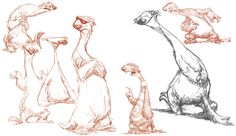 """Character design, Sid, Ice Age""  by Peter de Sève"