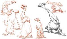 Na criação de uma animação, personagens são desenvolvidos sob vários ângulos e traços de personalidade