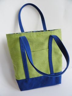 Classic tote bag with front pocket.  Canvas by TheScatteredArtisan, $28.00