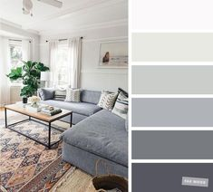 The best living room color schemes - Grey Palette. The best living room color schemes - Grey Palette living room color scheme. The living room is the place where friends and family gather to spend quality time in a home, so it's important for it to. Good Living Room Colors, Room Wall Colors, Living Room Color Schemes, Living Room Paint, Home Living Room, Apartment Living, Living Room Designs, Living Room Decor, Gray Color Schemes