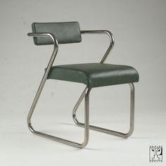 Pair of streamline armchairs by Gilbert Rohde - ZEITLOS – BERLIN