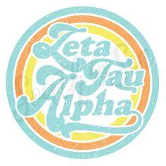 ✰ South by Sea @southbyseacollege ✰ Zeta Tau Alpha | ZTA | Retro Circle | Hippie Recruitment | South by Sea | Greek Tee Shirts | Custom Apparel Design | Custom Greek Apparel | Sorority Shirts | Sorority Graphics | Sorority Tanks | Sorority Shirt Designs