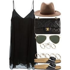 Style #8484 by vany-alvarado on Polyvore featuring Acne Studios, H&M, Birkenstock, Chanel, ASOS, rag & bone and Ray-Ban