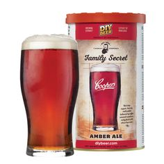 The Coopers Family Secret Amber Ale has a biscuity malt palate balanced by toffee caramel sweetness and a nutty finish with citrus hop notes. Home Brew Supplies, Brewing Supplies, Home Brew Shop, Ale Recipe, Beer Ingredients, Home Brewing Equipment, Homemade Beer, How To Make Beer, Beer Brewing