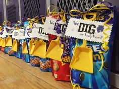We Dig Our Lady Bears Shovel - Varsity Volleyball Game Treat