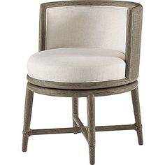 mcguire furniture barbara barry canyon swivel dining chair no m 436 chaises
