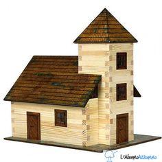 Walachia - Costruzioni in legno - N. 12 LA CHIESA - Hobby Kits | lalberoazzurro.net