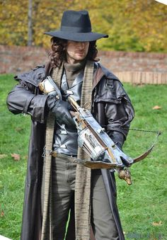 Van Helsing would be a hit at any costume party, especially with those (like myself) who love the character!