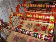 Traditional Kazakh Cradle