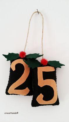 25 Natale Da immagine da internet. Realizzato in pannolenci by giuseppina ceraso   crocettando https://crocettando.wordpress.com/2015/09/09/primo-post-dedicato-ai-lavori-di-natale-2015-in-pannolenci/