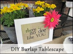 """I Celebrate YOU"" Tablescape {Guest Post by Me!} 