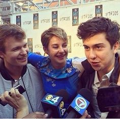 TFIOS interviews with ansel, shai and Nat