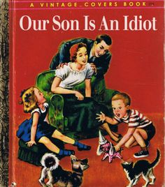 Funny Vintage Ads, Vintage Humor, Vintage Books, Funny Cartoons, Funny Jokes, Ladybird Books, Up Book, Little Golden Books, Bedtime Stories