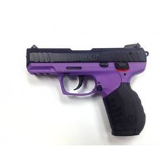 ok I don't want to be one of those girly girls who like girly colored guns but damn it!, its got purple in it!!!!!