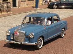 1960 Mercedes Benz 190 in DB356 Hellblau