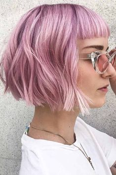 40 The latest Bob Haircut ideas for 2019 - Hairstyle Fix - - 40 The latest Bob Haircut ideas for 2019 – Hairstyle Fix choppy bob hairstyles trends 40 Die neuesten Bob Haircut-Ideen für 2019 – Hairstyle Fix Best Bob Haircuts, Choppy Bob Hairstyles, Lob Hairstyle, Hairstyles With Bangs, Short Fringe Hairstyles, Hairstyle Ideas, Short Hair Lengths, Short Hair Cuts, Short Hair Styles
