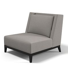 x holy hunt christian - holy hunt  Christian Liaigre LATIN CHAIR contemporary club chair armchair modern low by archstyle