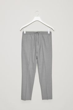 COS | Slim-fit trousers with elastic waist