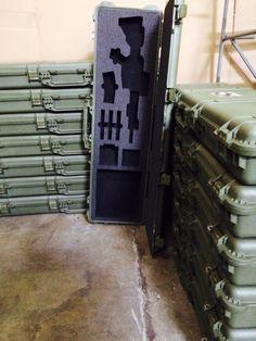 Pelican 1750 and Custom foam for an Ammo Storage, Weapon Storage, Pistol Case, Pelican Case, Gun Cases, Fire Powers, Custom Guns, Survival Mode