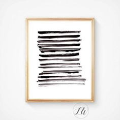 Abstract art Minimalist print Print Nordic por LoveWonderPrints