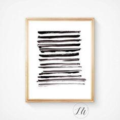 Abstract art Minimalist print Print Nordic by LoveWonderPrints