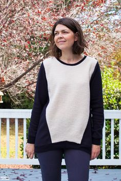 4b4ca313b6 The Halifax Hoodie sewing pattern by Hey June is a casual pullover or zip-up  sweatshirt with five different views and an optional hood.