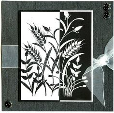 Wheat Fall Cards, Your Cards, Cardmaking, Photo Art, Black And White, My Love, Cas, Handmade Cards, Card Ideas