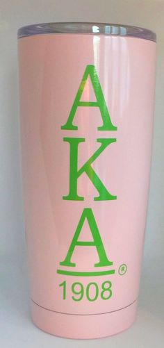 This is an online store for those who love pink and green. We have great gift items along with Alpha Kappa Alpha Sorority Incorporated merchandise. Aka Sorority, Alpha Kappa Alpha Sorority, Sorority And Fraternity, Diy Tumblers, Insulated Tumblers, Alpha Kappa Alpha Paraphernalia, Aka Paraphernalia, Curves Quotes, Sorority Crafts