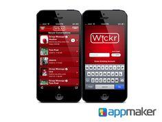 APLICACIONES MÓVILES ¿Qué es Wickr? APP MAKER Esta aplicación envía mensajes sin dejar rastro, ya que no recolecta información personal de los usuarios. Al mandar un mensaje, el cual se codifica, los metadatos (ubicación, tiempo, identificación) son eliminados. www.appmaker.mx