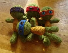 Teenage Mutant Ninja Turtles http://www.craftster.org/forum/index.php?topic=209461.0
