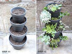 Vertical Garden. Great for herbs!