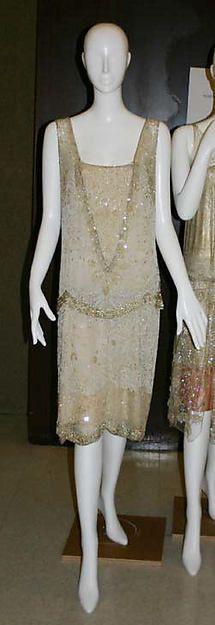 Evening dress, Designer: Edward Molyneux (French (born England), London 1891–1974 Monte Carlo) Date: 1925