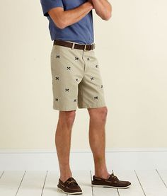 I love embroidered shorts!